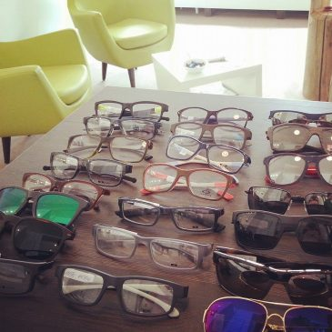 Die Oakley Brillen sind Da!